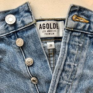 Agolde Jean shorts (worn only a few times)